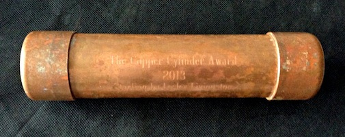 copper cylinder version