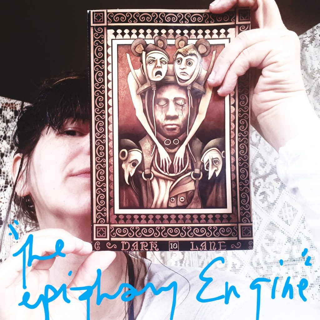zandra renwick holding dark lane volume ten anthology with her story the epiphany engine